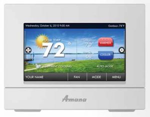 Adjusting your Thermostat